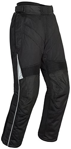 Tourmaster Venture Air 2.0 Men's Textile Motorcycle Pant (Black, XX-Large)