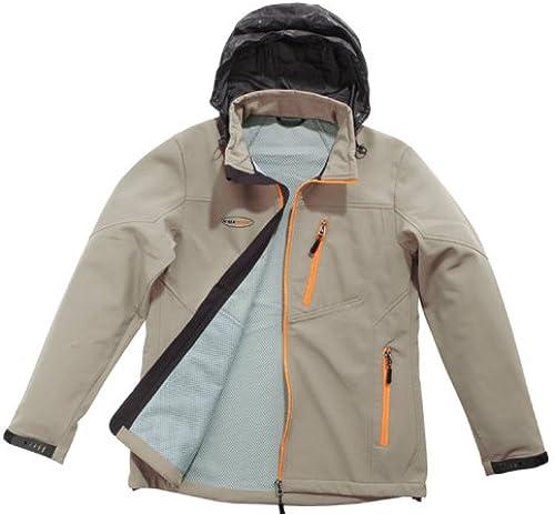 Dynamic24 Walk Maxx Veste Softshell Veste de Pluie Veste Coupe-Vent pour Femme en Noyer à la TV
