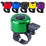 Terra Connect Bike Bell Bicycle Bell Loud Crisp Clear Sound Road and Mountain Bike Ring Bell (Green)