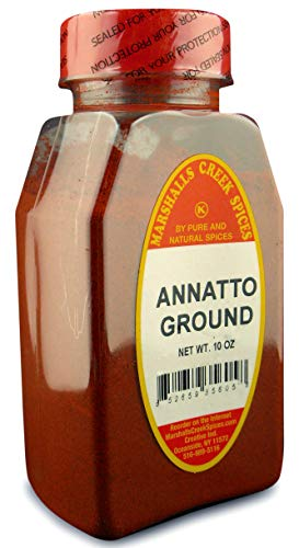 Marshall's Creek Spices New Size Seasoning, Annatto Seed Ground, 10 Ounce