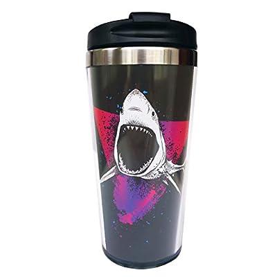 Wodealmug Women's Travel Coffee Mug Thermal Insulated Tumbler Cup With Lid 14 OZ