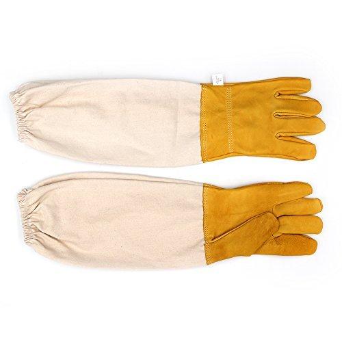 Imker Handschuhe mit belüftetem Ärmeln groß ideal Imker Handschuhe