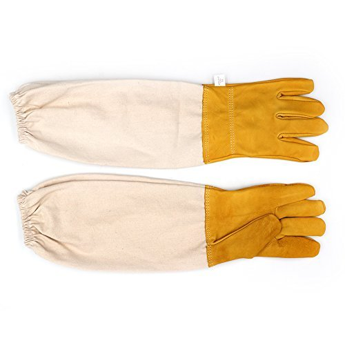 Imker Handschuhe Schutz Handschuhe mit belüftetem Ärmeln groß ideal Imker Handschuhe