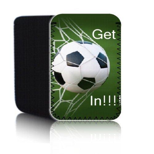 Biz-E-Bee exclusivo de fútbol diseño Get in 7'–Funda de neopreno para Tablet Asus Fonepad ME372CG 17,8cm Pochette–Choque/resistente al agua de neopreno, funda, bolsa, antideslizante–Reino Unido