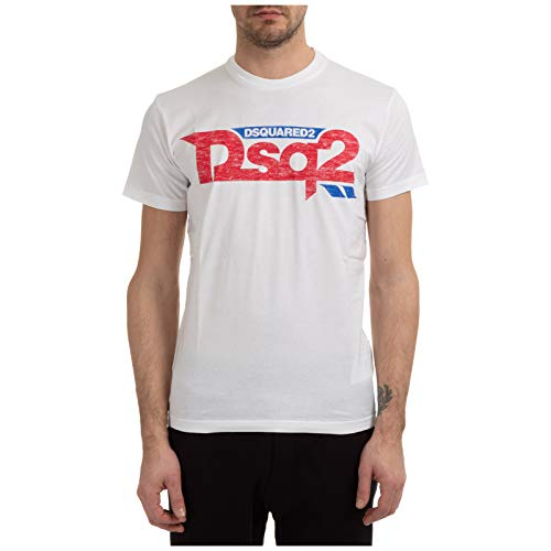 DSQUARED2 Dyed Cool Fit T-Shirt White XL