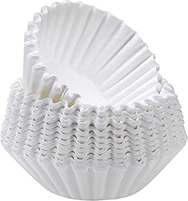 White Coffee Filters, 8/12-Cup Size (300 Count)