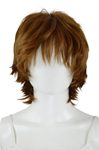 Epic Cosplay Apollo Light Brown Short Wig 13 Inches (33LB)