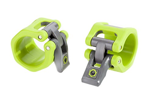 Lock-Jaw HEX 50mm / 2' Olympic Barbell Collar (Green)