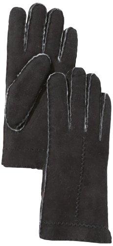 Roeckl Damen Handschuh Flechtnaht Lammfell 13013-646, Schwarz (000), 8.5 (Herstellergröße: 8.5)