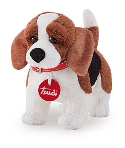 Trudi- Beagle Peluche, Multicolore, 22022