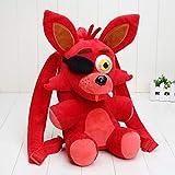 Juguetes De Peluche FNAF Five Nights At Freddy'S Felpa Mochila Niños Mochila Freddy Fazbear Foxy Gloden Bear Cosplay Bolso De Hombro 33 Cm