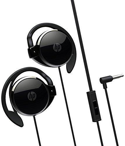 HP H2000 - Auriculares estéreo (de clip, con micrófono, 3.5 mm), negro