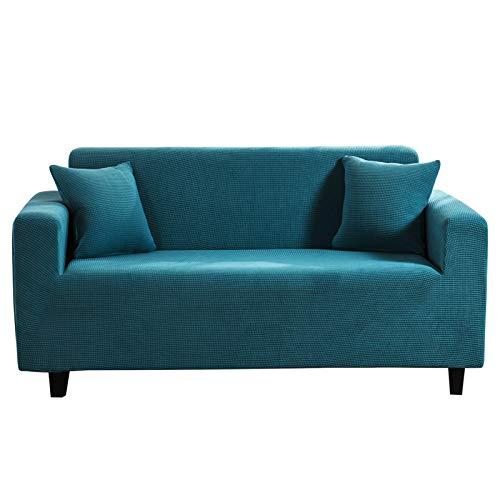 PETCUTE Funda para Sofa Elasticas 3 Plaza Cubre Sofás Protector Universal Jacquard Protector de Muebles para Sofá Antisuciedad #7