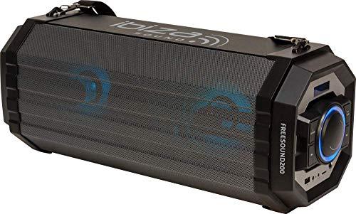 IBIZA FREESOUND200 BLUETOOTH SOUNDBOX MIT USB MP3 SD PLAYER RADIO PARTY DISCO MUSIK LAUTSPRECHER DJ EVENT BÜHNE BESCHALLUNGSANLAGE SOUNDSYSTEM
