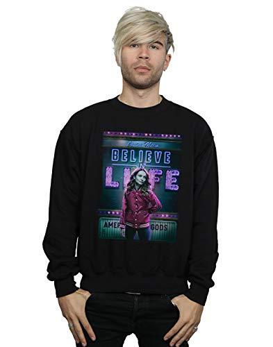American Gods Hombre Laura Moon Believe In Life Camisa De Entrenamiento