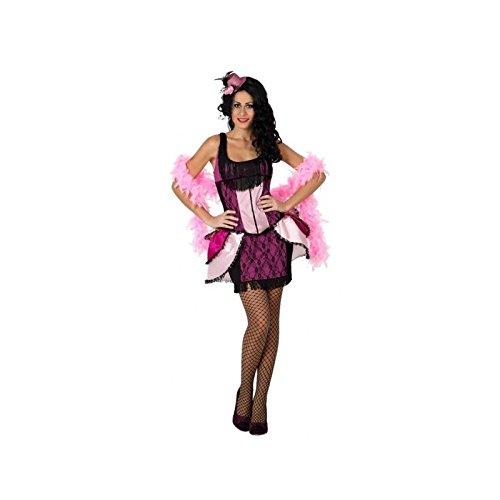 Atosa - Disfraz de cabaret para mujer, talla 38 (8422259156116)