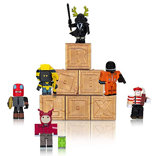 Roblox Action Collection - Figura de Misterio de la Serie 8 (6 Unidades) [Incluye 6 Elementos virtuales exclusivos]
