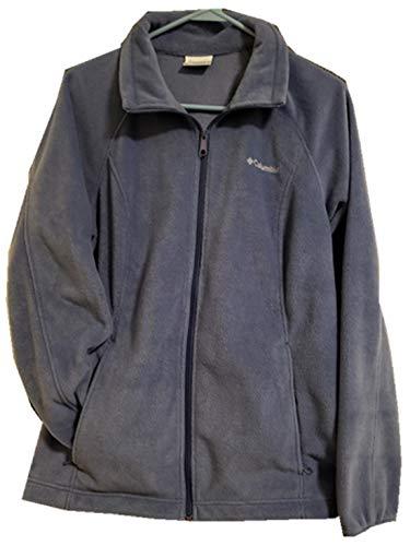 Columbia Benton Springs Full Zip Fleece Jacket Women (S, Navy)