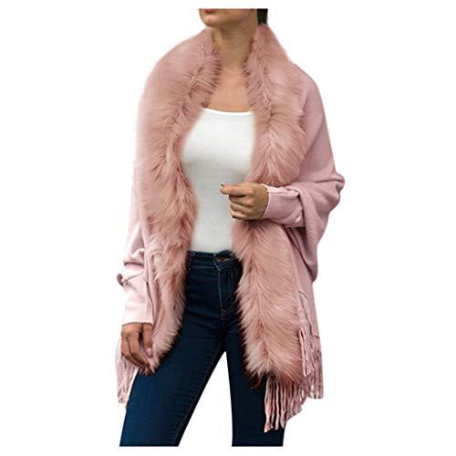 KANGMOON Wollmantel Damen Cardigan Jacken Winterjacke Warmer Winter Pullover