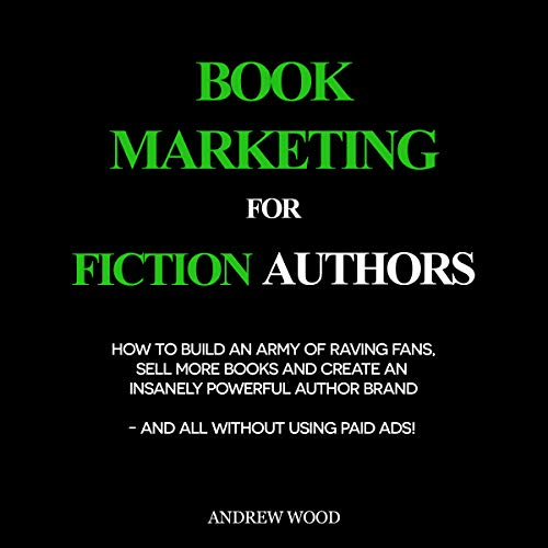 Book Marketing for Fiction Authors audiobook cover art