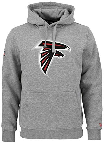 New Era - NFL Atlanta Falcons Team Logo Hoodie - Grau Größe L