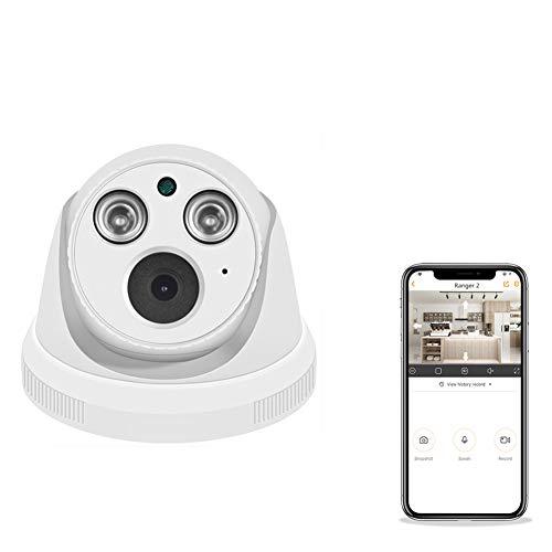 DFSSD WiFi Caméra IP 1080P Baby Monitor Home Security Camera, Caméra intérieure WiFi IP IR Night Vision Camera Pet pour Elder, Baby/Pet/Nanny Moniteur