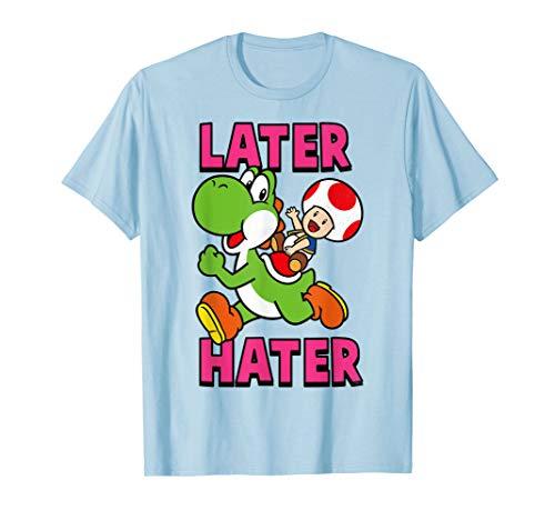 Nintendo Super Mario Yoshi Toad Later Hater...