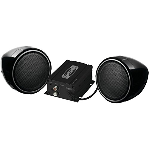 Bluetooth Amplifier Sound Storm SMC80BC Sound System Weatherproof Multi-Function Remote 3 Inch Speakers Ideal for Motorcycles//ATV and 12 Volt Applications Sound Storm Laboratories