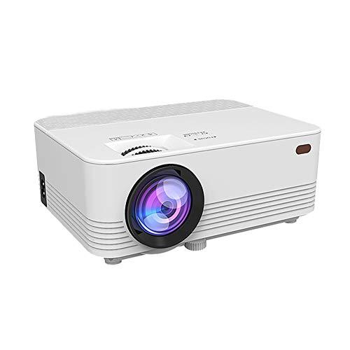 Bsopem Mini proyector para teléfono, proyector de vídeo...