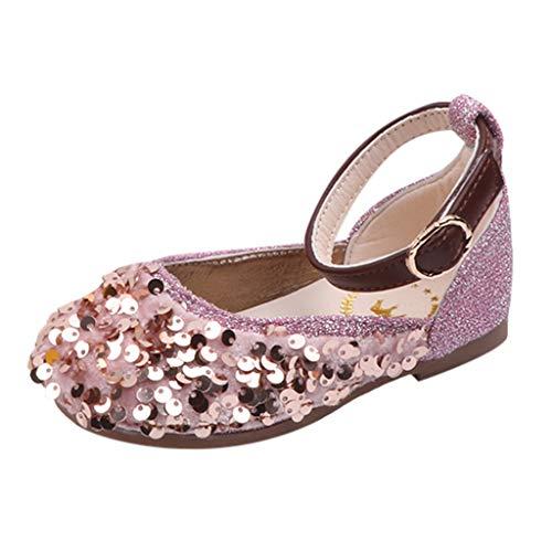 Baby Schuhe Kleinkind Kinderschuhe Mädchen Einzelne Schuhe Ballerinas Schuhe Pailletten Abschlussball Party Prinzessin Sandalen Freizeitschuhe Lauflernschuhe Weiche Sohle Krabbelschuhe