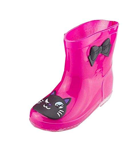 Cute Cat fille Rain Boot extérieure Kids Rainy Day Accessoire