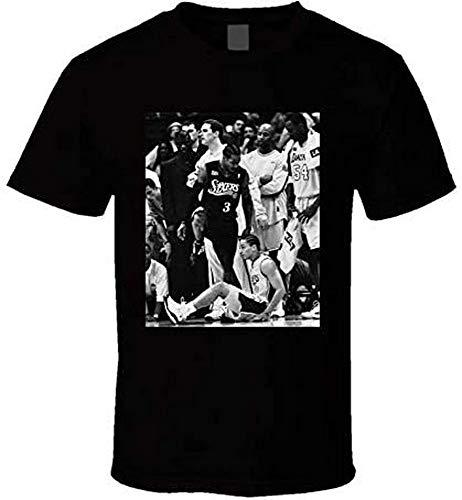 Allen Iverson Steps Over Tyronn LUE - Camiseta para hombre, talla S...