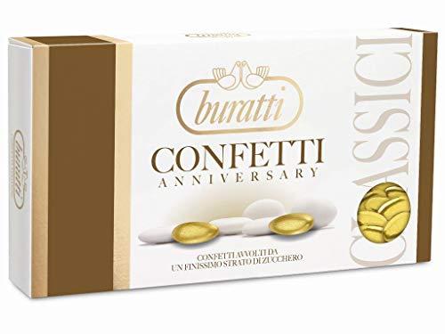 Buratti Oroc100 Confetti Mandorla Oro Colorata - 1 Kg