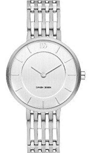 Danish Design dames analoog kwarts horloge met titanium armband 3326616