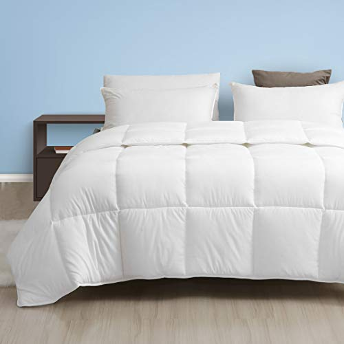 Dafinner 100% Cotton All Season Down Alternative Comforter - Ultra-Soft Plush Eco-Responsible...