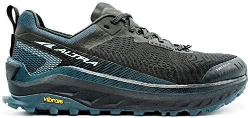 ALTRA Men's AL0A4VQM Olympus 4 Trail Running Shoe, Black Steel - 11 M US