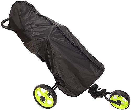 JURONG Golf-Reisetasche, Staub-Regenschutz, durchscheinende PVC-Golf-Reisetasche, Regenhaube, volle Golftasche, wasserdichte Regenabdeckung, tragbarer Golf-Schutz, Zubehör (schwarz)