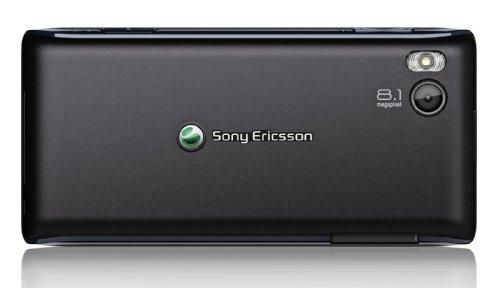 Sony Ericsson Aino Classic-Edition Handy (7,6cm (3 Zoll) TFT-Display, Touchscreen, 8,1 Megapixel Kamera) schwarz