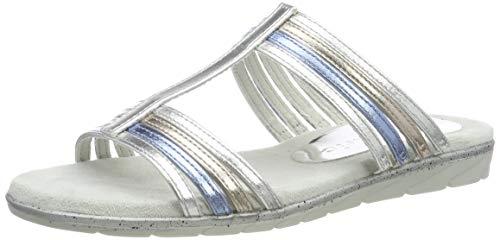 Tamaris Damen 1-1-27106-22 Pantoletten, Silber (Silver Comb 948), 40 EU
