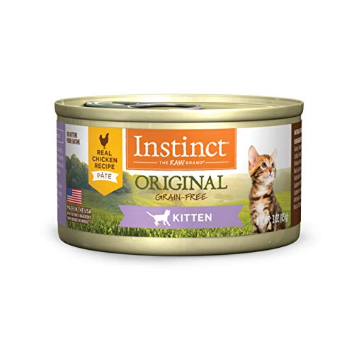 Instinct Original Kitten Grain Free Recipe Natural Cat Food