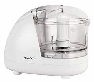 Kenwood Mini Chopper, 0.35 Litre Dishwasher Safe Bowl, 2 Speeds, Rubber Feet for Food Chopper Stability, 300 W, CH180A, White (B0000C6WPC) | Amazon price tracker / tracking, Amazon price history charts, Amazon price watches, Amazon price drop alerts