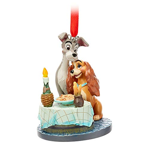 Disney Lady and The Tramp Sketchbook Ornament