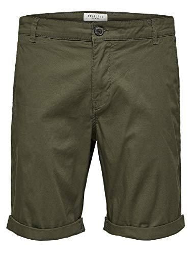 SELECTED HOMME Male Shorts SLHPARIS Regular FIT - XLDeep Depths
