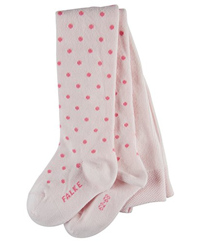FALKE FALKE Baby Strumpfhosen Little Dot - Baumwollmischung, 1 Stück, Rosa (Powder Rose 8902), Größe: 80-92