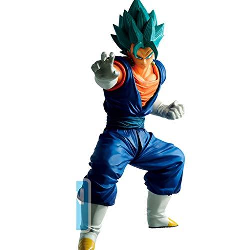 XQ Xqwo Dragon Ball Z Super Saiyan Vegeta (Pelo Azul) Figura de acción de colección de Anime Dragon Ball Regalos for los Aficionados 20m