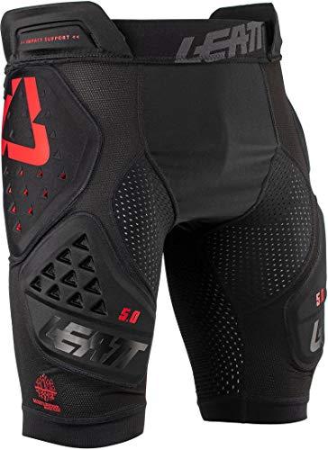 Leatt Premium Schutz-Shorts mit weicher Schale aus 3D-Material, seitlichen Protektoren und atmungsaktivem Moisturecool