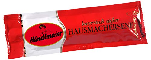 Händlmaier süßer Senf 210 BEUTEL x 15ml Gastro/Metzger