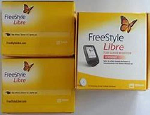 Freestyle Lector libre y dos cajas de sensores libres