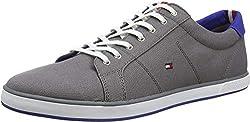 Tommy Hilfiger Herren H2285ARLOW 1D Sneakers, Grau (Steel Grey 039), 46 EU