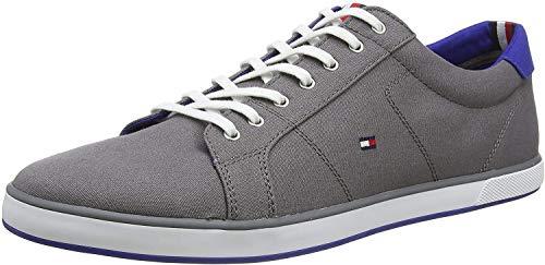 Tommy Hilfiger H2285arlow 1d, Zapatillas Hombre, Gris (Steel Grey), 45 EU